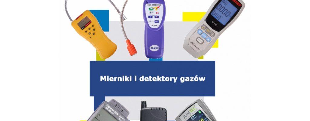 Mierniki gazów - detektory gazów