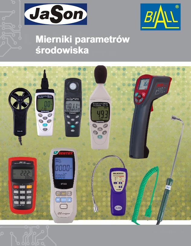 Mierniki parametrów środowiska i wielkości nieelektrycznych
