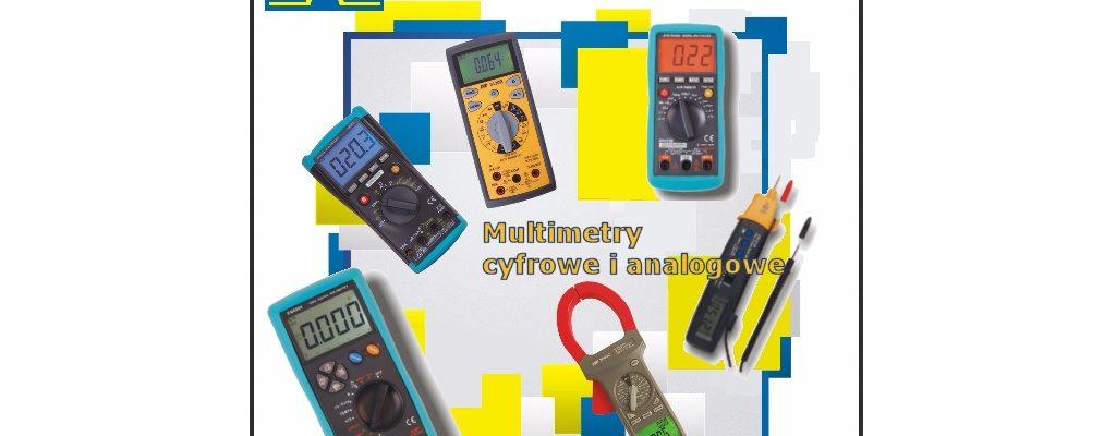 Multimetry cyfrowe i analogowe