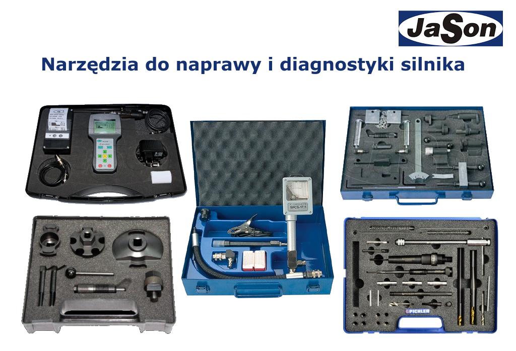 Narzędzia do naprawy i diagnostyki silnika