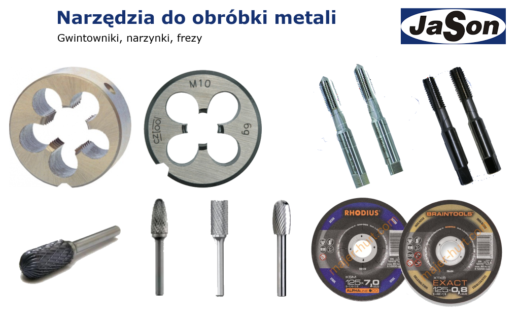 Obróbka metali - narzędzia do obróbki metali