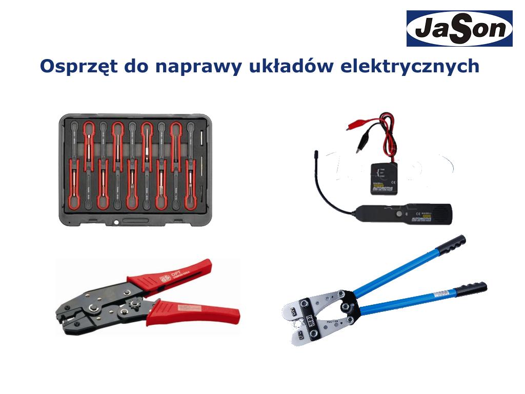 Osprzęt do naprawy układów elektrycznych