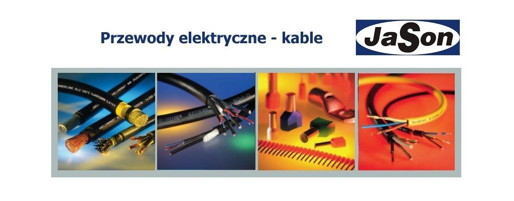 Przewody elektryczne - kable