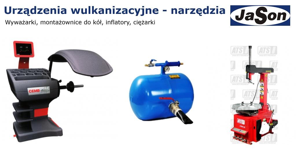 Urządzenia wulkanizacyjne - narzędzia