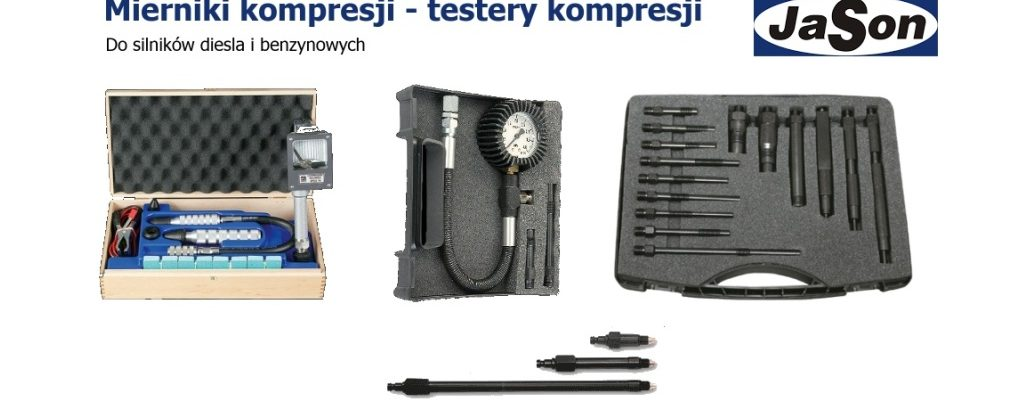 Mierniki kompresji - testery kompresji