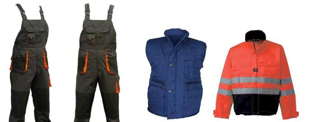 Odzież BHP - ubrania